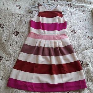 LOFT Striped Summer Dress